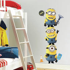 Minion Wallpaper For Bedroom Amazoncom Roommates Rmk2081gm Despicable Me 2 Minions Giant Peel