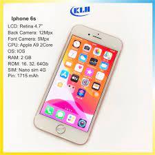 Máy Iphone 6s bản quốc tế chính hãng cũ, Điện thoại Ip 6s 16g, 32g, 64g màu  vàng, hồng, xám DATA Shop - Điện Thoại - Máy Tính Bảng