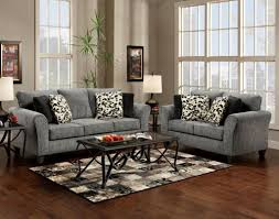 Living Room With Grey Sofa Living Room With Gray Couch Interior Modern Livingroom Penthouse