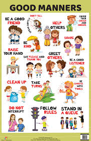 Good Habits Chart For School Buy Good Manners Book Online At Low Prices In India Good