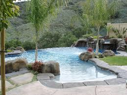 backyard infinity pools. Infinity Pool In Hillside Grotto Backyard Pools