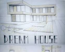 Architectural Drawings Of Modern Houses Modern House Drawing