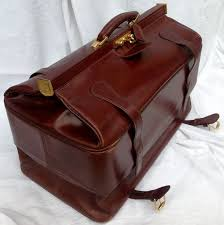 handcrafted leather goods manufacturing typical doctor s bag vintage