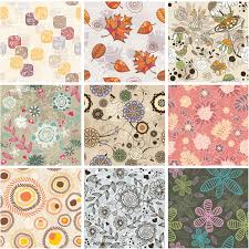 Fall Patterns Stunning Decorative Fall Patterns Vector Vector Graphics Blog