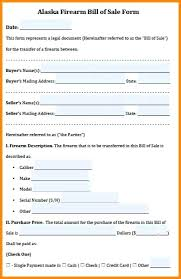 Legal Bill Of Sale firearm bill of sale form free – pitikih