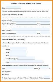 Firearm Bill Of Sale Form Free – Pitikih