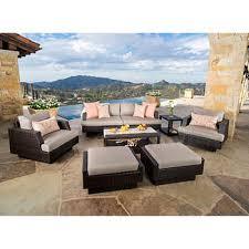 agio international panorama outdoor 9 piece high dining patio set. portofino comfort 7-piece seating set in espresso taupe agio international panorama outdoor 9 piece high dining patio
