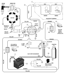Ignition starter switch wiring harness for murray mtd craftsman lawn tractor diagram schematic
