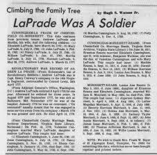 LaPrade Revolutionary War - Newspapers.com