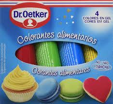 Dr Oetker Colorantes Alimentarios Pack De 4 X 10 G Total 40