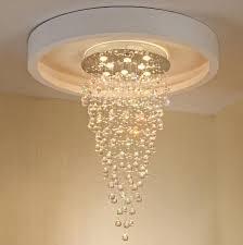 modern villa rotary duplex k9 crystal chandelier meteor shower stair chandelier