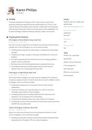 User Experience Designer New York Ux Designer Resume Example Template Sample Cv Formal