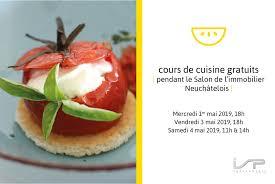Cours De Cuisine Gratuits Pendant Le Salon De Limmobilier
