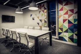 Meeting Room Wall Design Quidco Office Meeting Room With Custom Steel Frame Table