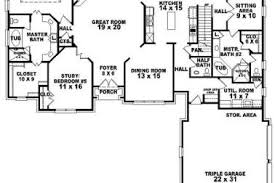 25 Ranch House Plans 2 Master Suites Ranch House Plans With