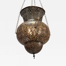 listings furniture lighting chandeliers and pendants large moroccan brass pendant