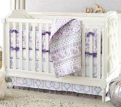 paisley baby bedding purple crib set girl sets pink brown and green