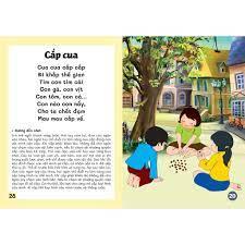 Sách - Đồng dao cho bé - Các trò chơi dân gian - Các câu hát vè dân gian -  Bé từ 3 đến trở lên (dành cho bé tập nói) -