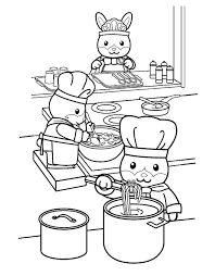 Small Picture Coloring Page Kitchen and cooking coloring pages 4