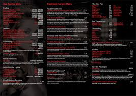 U Salon - Price List
