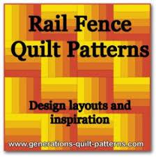 Rail Fence Quilt Pattern Designs / Easy Beginner Quilt Pattern & Rail Fence Quilt designs Adamdwight.com