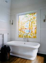 bathroom window glass. Stained Glass Windows In The Bathroom Window M