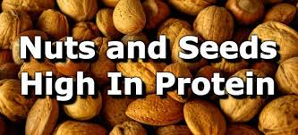 Low Fat Nuts Chart 16 Nuts And Seeds High In Protein