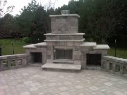 new home decor view outdoor fireplace grill interior design ideas within and