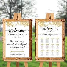 The Knot Wedding Seating Chart Wedding Welcome Sign And Seating Chart Wedding Ceremony Sign Choose A Seat Not A Side Printable 16x20 18x24 20x30 24x36
