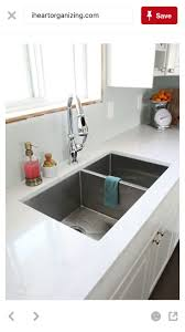IHeart Organizing: IHeart Kitchen RenoThe sink is a total of x and deep. We  went with a stainless split sink, about is the main bowl and the side bowl  is ...