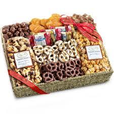 a canadian pretzel gift basket
