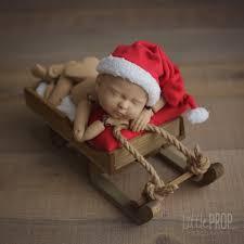 wooden sleigh pillow