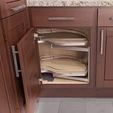 Pull Out Kitchen Storage Vauth Sagel Twin Corner 1 Blind Corner Pull Out 39 W Left Hand