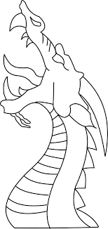 Easy Draw Dragon Drawing To Drawings