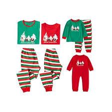 Nicesee Nicesee Family Matching Christmas Pajamas Set