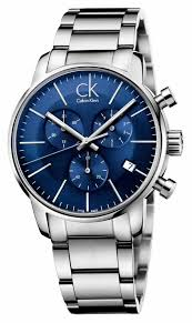 calvin klein watches official uk retailer first class watches calvin klein mens stainless steel blue dial city chronograph k2g2714n