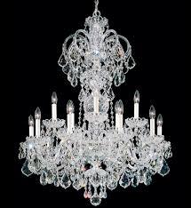 schonbek 6814 40s olde world 15 light silver swarovski elements crystal chandelier undefined