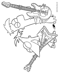 Small Picture Phineas and Ferb Coloring Pages Disney Coloring Book