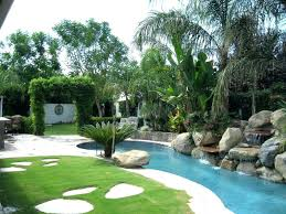 palm trees landscapes tropical trees for landscaping best landscaping for backyard with palm trees and unique pool using rock