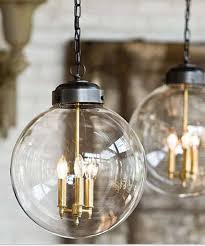 Brass And Glass Globe Pendant Light Glass Globe Pendant Brass Oil Rubbed Bronze Globe