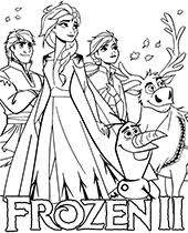 They set out to find the origin of elsa's powers in order to save their kingdom. Frozen Coloring Pages Sheets Topcoloringpages Net