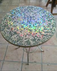 outdoor mosaic tables