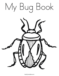 Small Picture Bug Coloring Page Twisty Noodle
