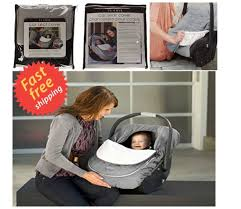 jj cole car seat cover 100 polyester baby black 13 x 9 5