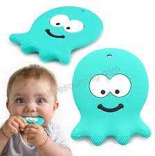 6 Month Old Baby Toys Adorable Teething Octopus Best Sensory Learning Teether For Girl Or Boy