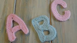 Crochet Letters Patterns Classy Crochet How To Crochet Letters A B P And C Yarn Scrap