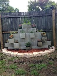 cinder block garden wall. Concrete Block Painting Ideas Impressive Building A Garden Wall With Blocks . Cinder T