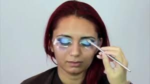 blue smokey eye makeup tutorial indian bridal asian stani arabic contemporary look video dailymotion urdu
