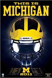 Giveaway Michigan Football 2011 Schedule Posters Umgoblog Com
