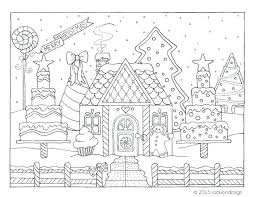 christmas house coloring pages. Perfect Christmas Gingerbread Houses Coloring Pages House Printable Best Of Line Drawing At Christmas  Page Co And Christmas House Coloring Pages O